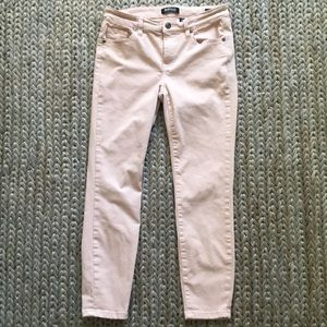 Buffalo David Bitton Aubrey Capri Jeans Pink Soft